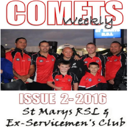 Comets Weekly - 2016 Issue 2